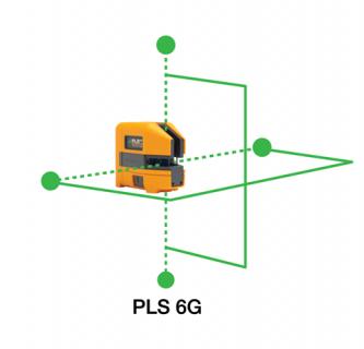 新世代 PLS6G 綠光 點+線雷射儀